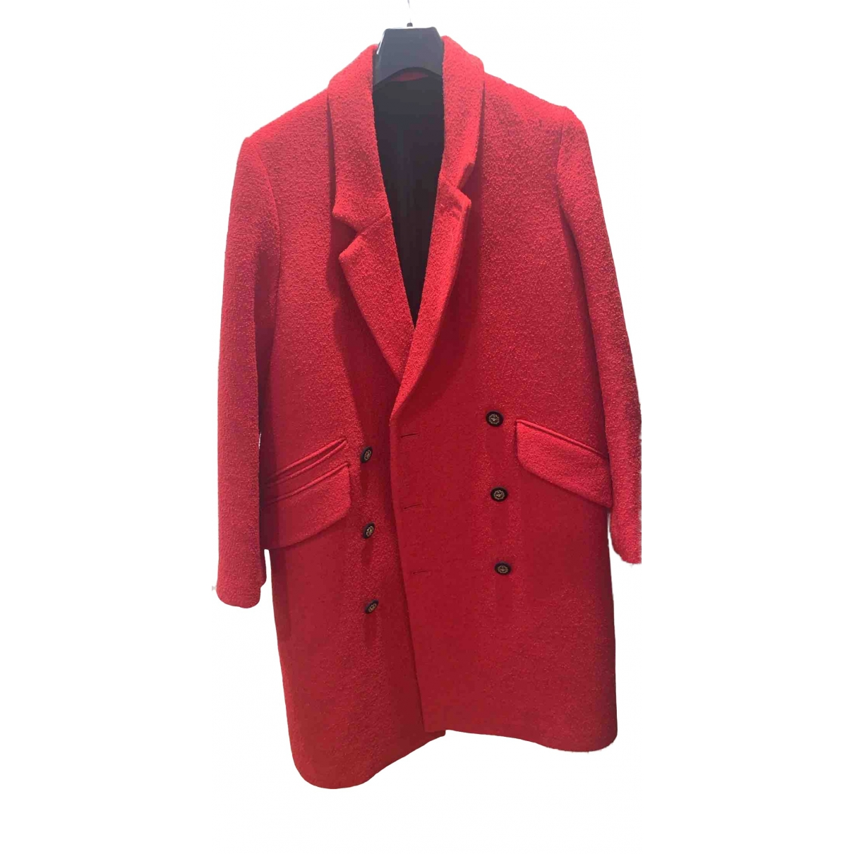 The Kooples \N Red Wool coat for Women 38 FR