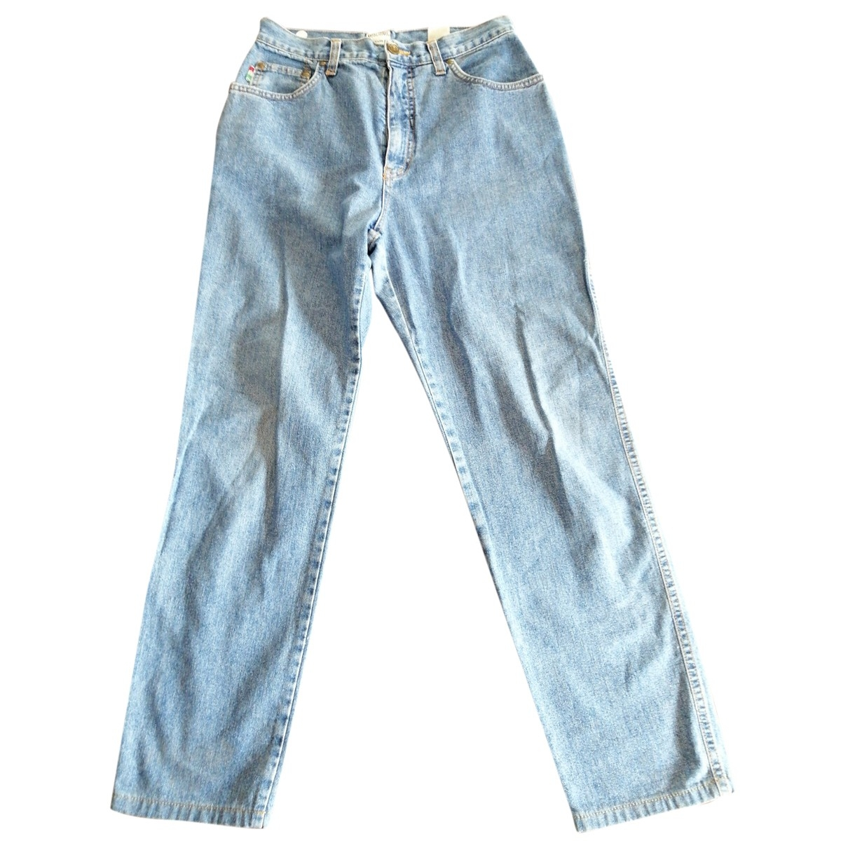 Moschino Love \N Blue Cotton Jeans for Women 30 US