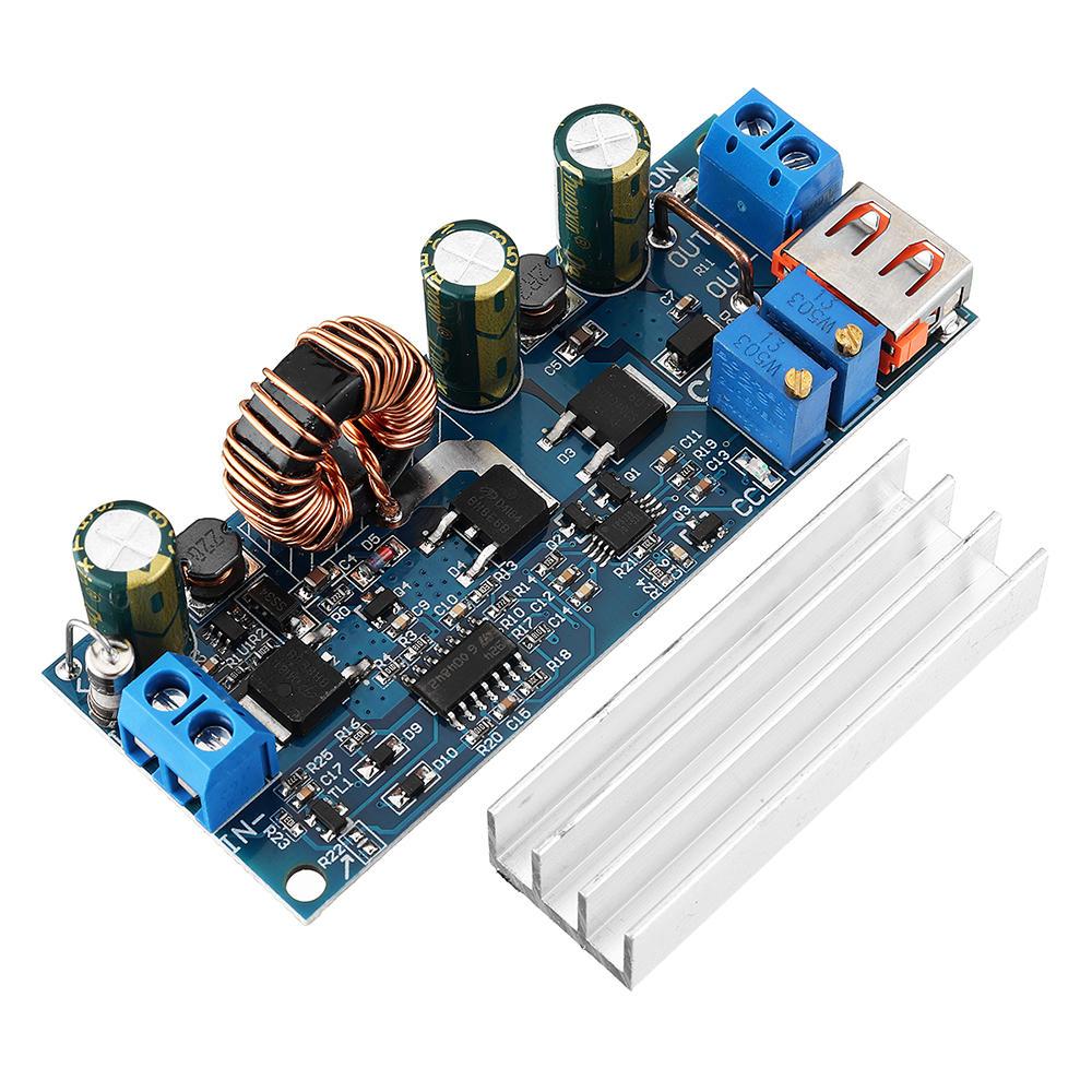 DC-DC 5V to 12V24V USB Boost Module 45W-80W Adjustable Power Supply Module 3.7V 18650 Lithium Battery