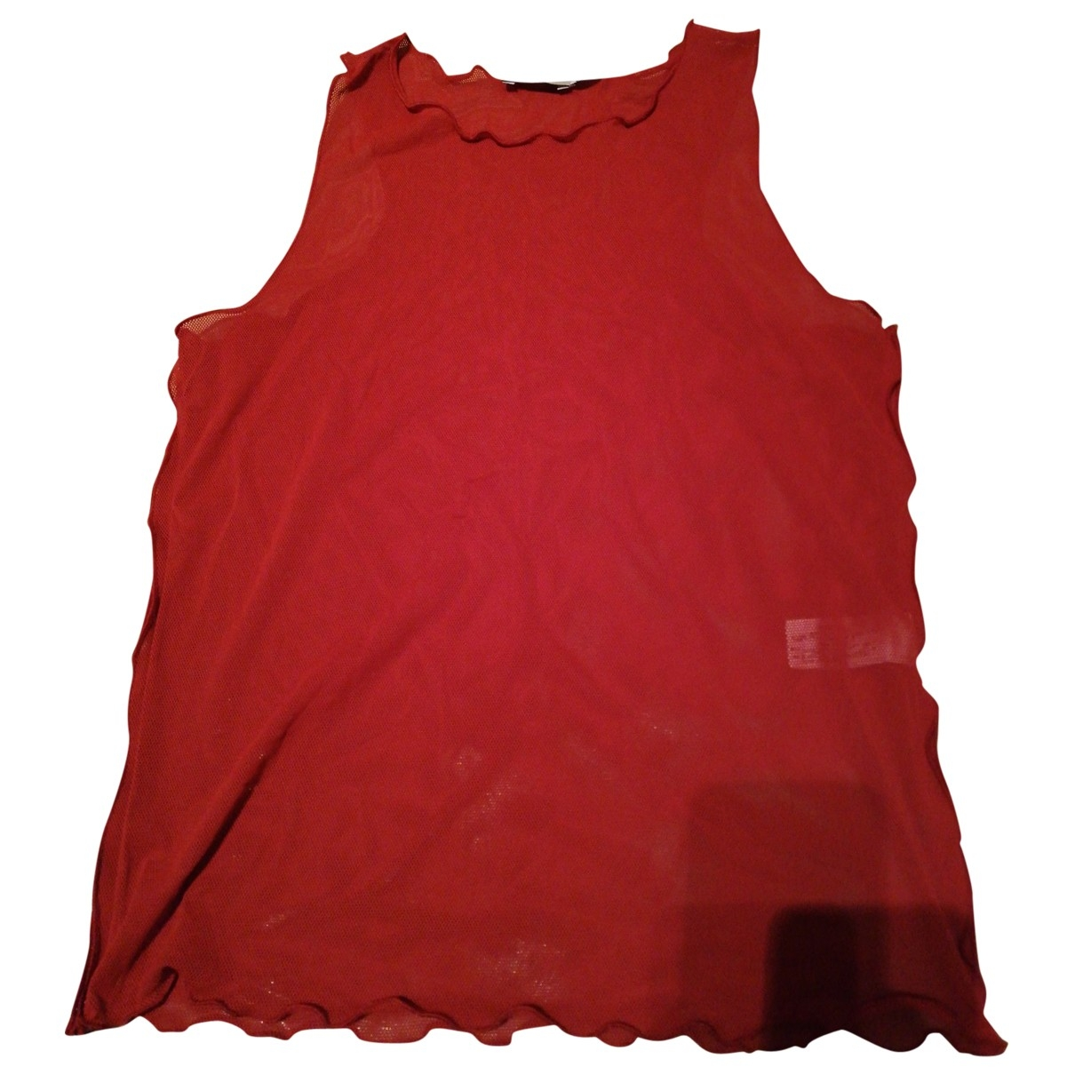Emporio Armani \N Top in  Rot Polyester