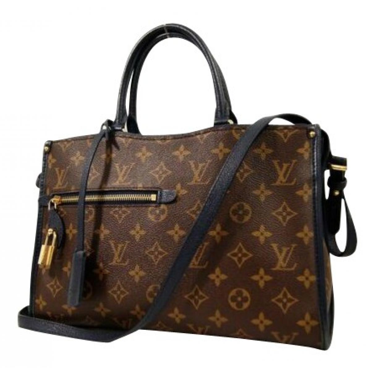 Louis Vuitton Popincourt Brown Cloth handbag for Women N