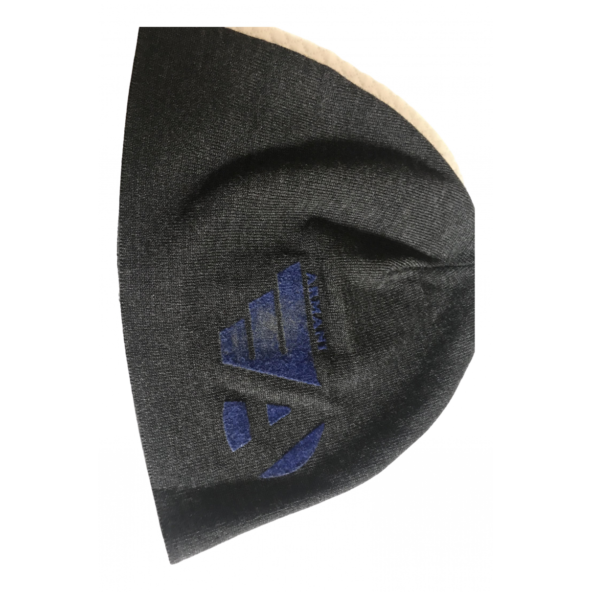 Emporio Armani \N Hut, Muetzen, Handschuhe in  Grau Wolle