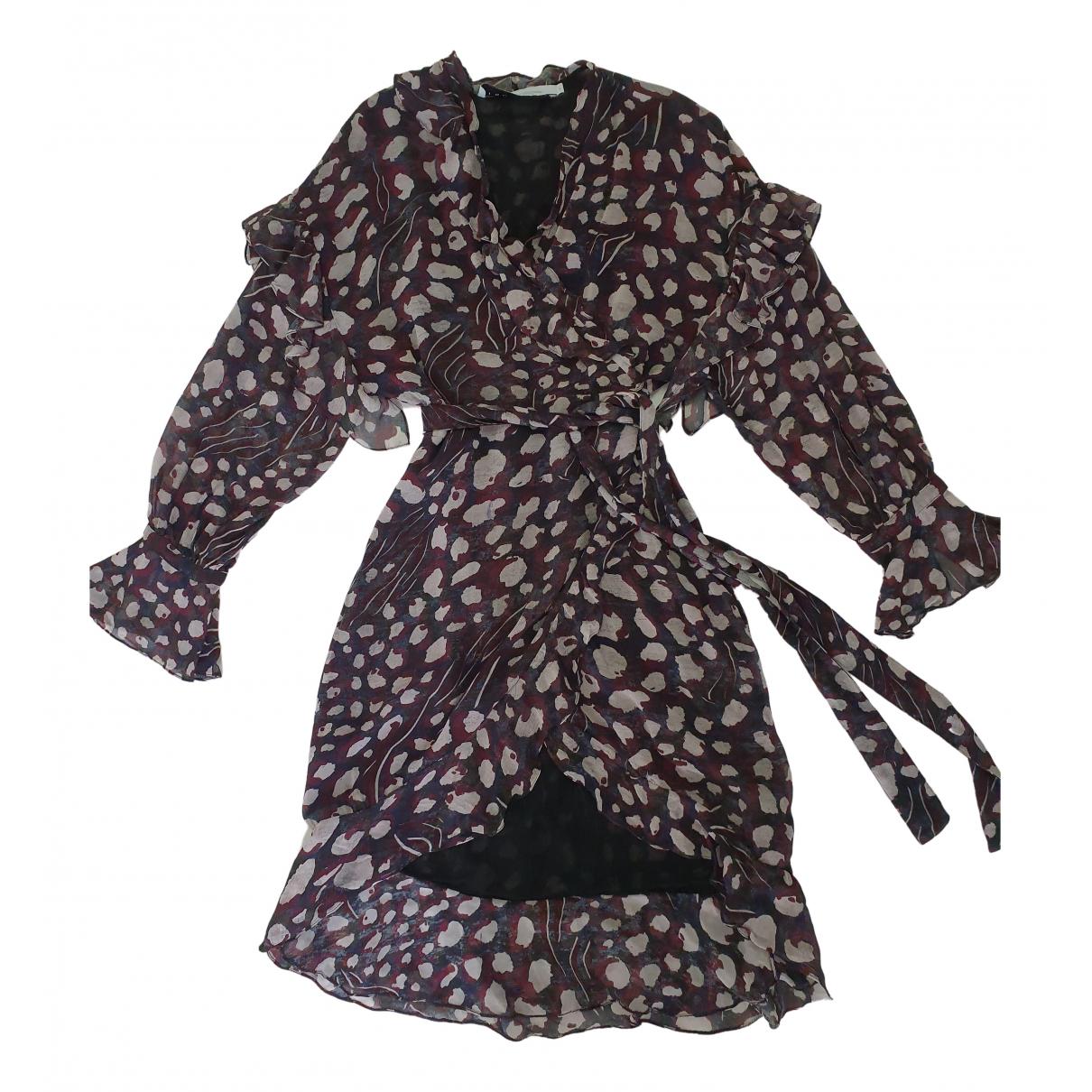 Iro Fall Winter 2019 Kleid in  Bordeauxrot Viskose