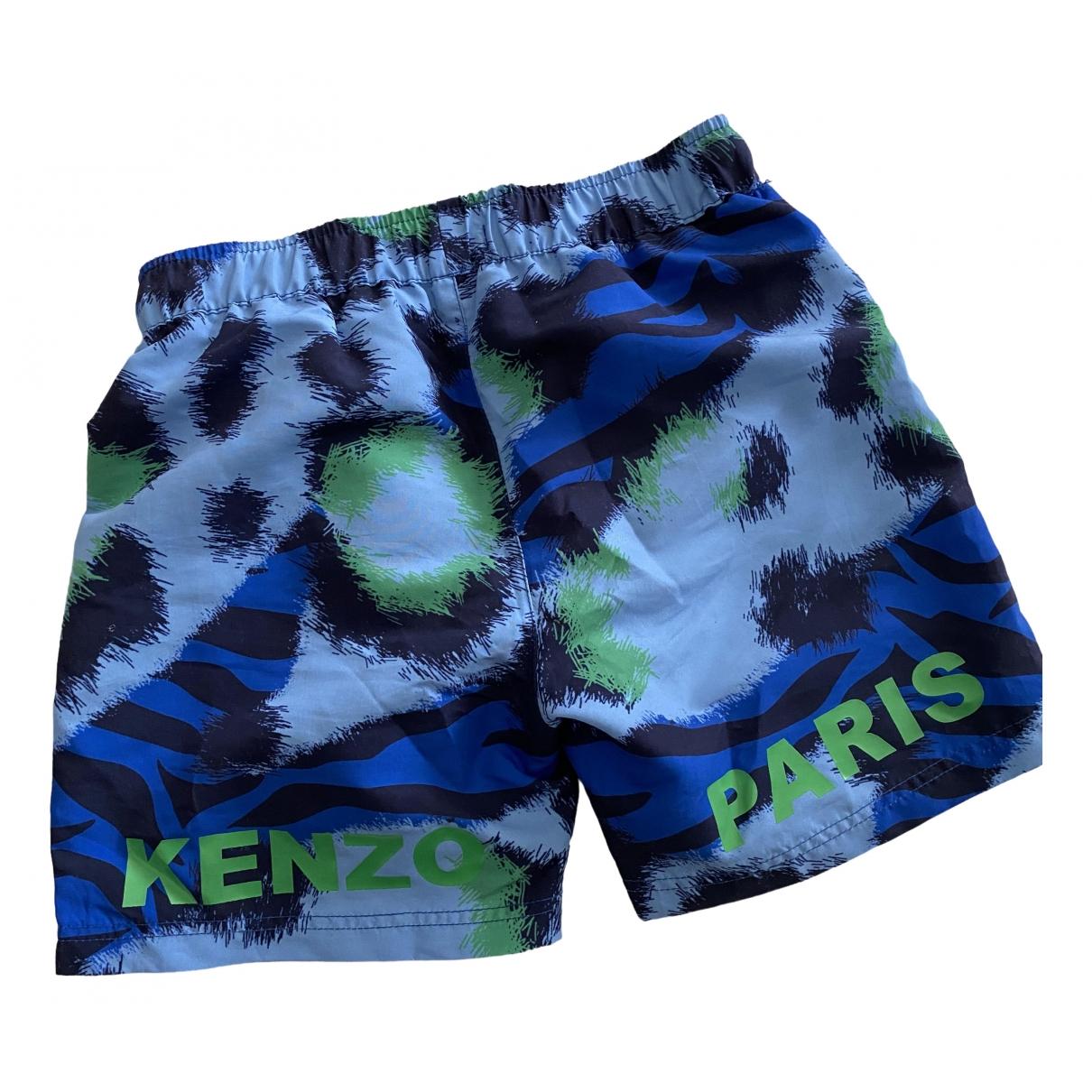 Kenzo \N Shorts in  Blau Polyester