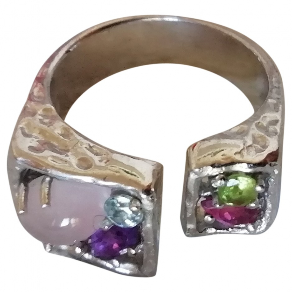 Christian Lacroix \N Ring in  Bunt Silber