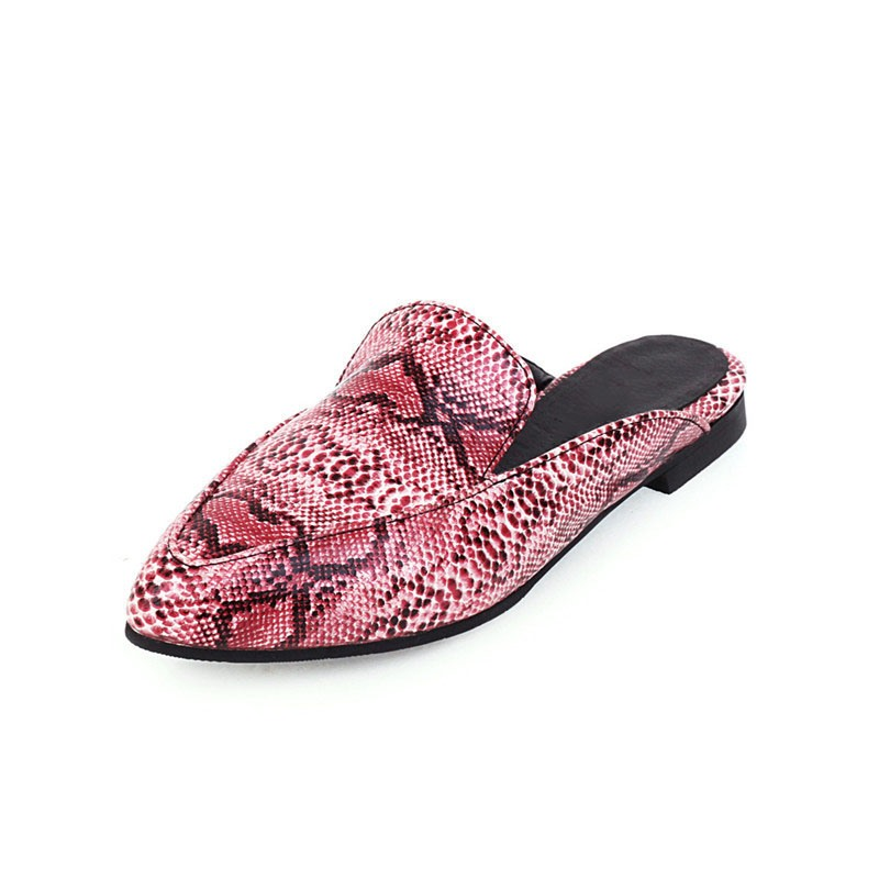 Ericdress Flip Flop Block Heel Slip-On Rubber Slippers