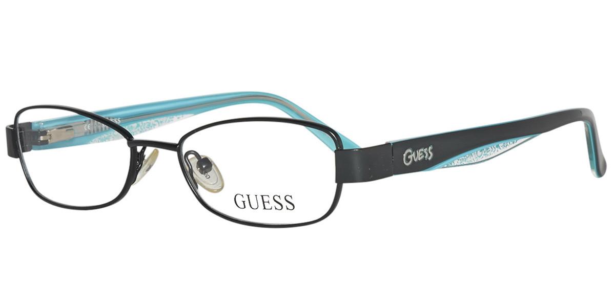Guess GU 9092 Kids B84 Kids' Glasses Black Size 47 - Free Lenses - HSA/FSA Insurance - Blue Light Block Available