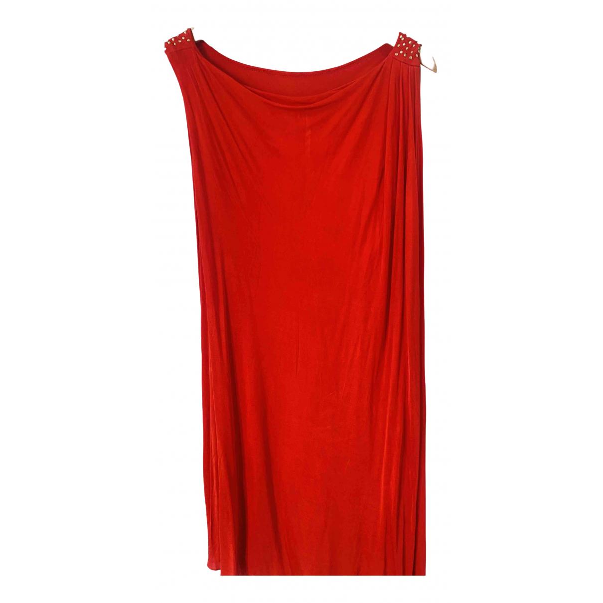Versace X H&m \N Kleid in  Rot Viskose
