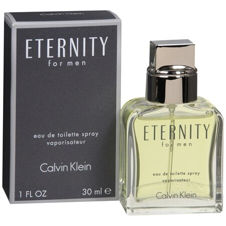Calvin Klein Eternity For Men Eau de Toilette Spray - 1.0 oz