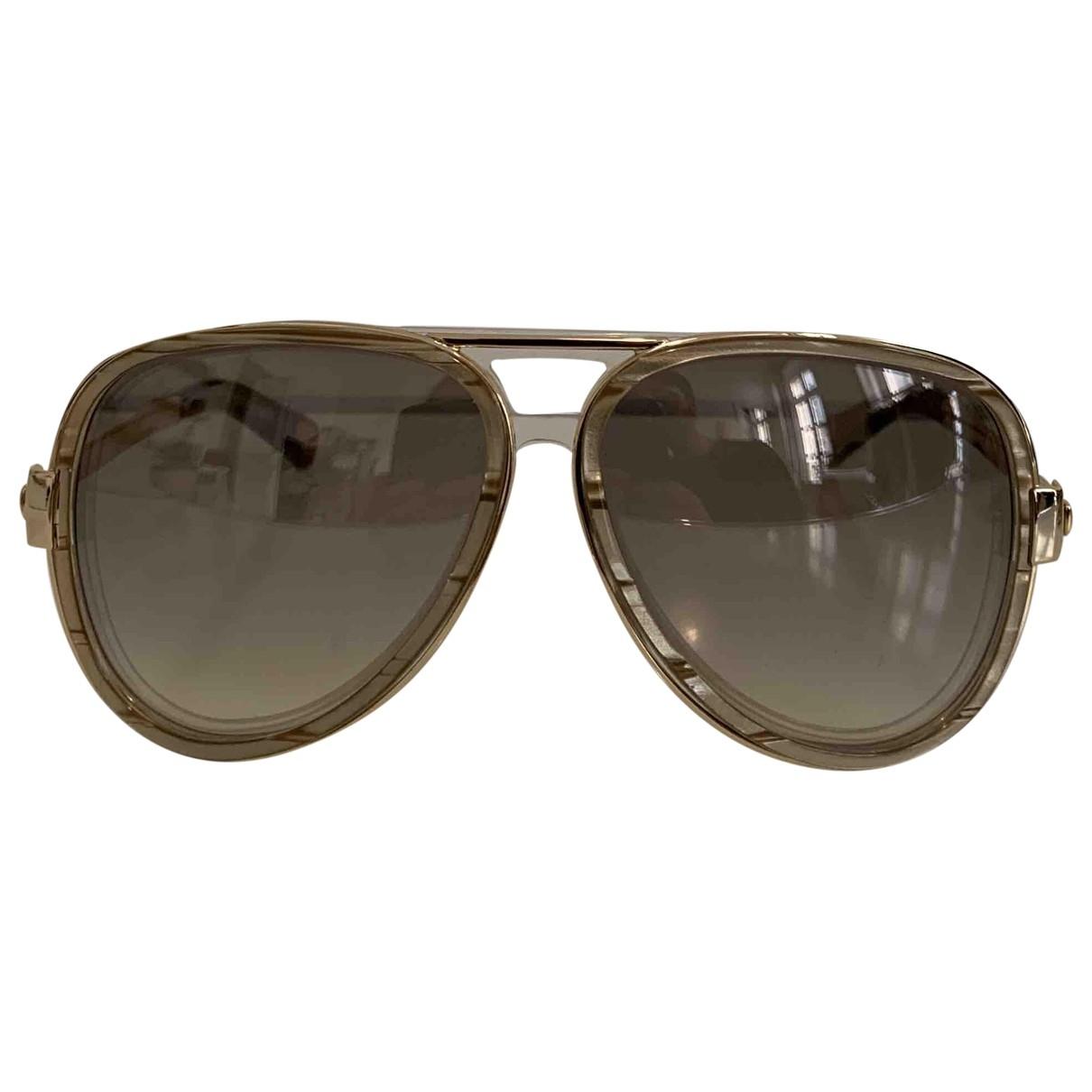 Marc Jacobs \N Sonnenbrillen in  Gold Metall