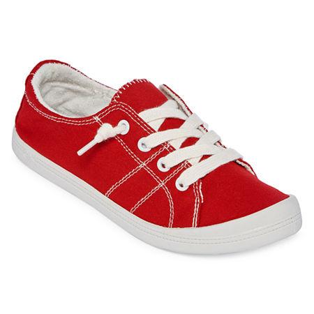 Pop Highbar Womens Sneakers, 7 Medium, Red