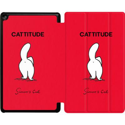 Amazon Fire HD 8 (2017) Tablet Smart Case - Cattitude von Simons Cat