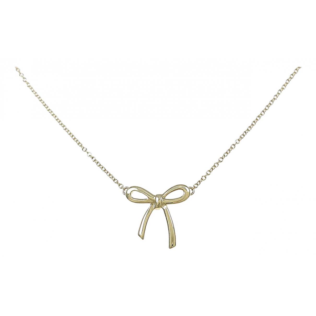 Tiffany & Co - Collier   pour femme en or jaune - dore