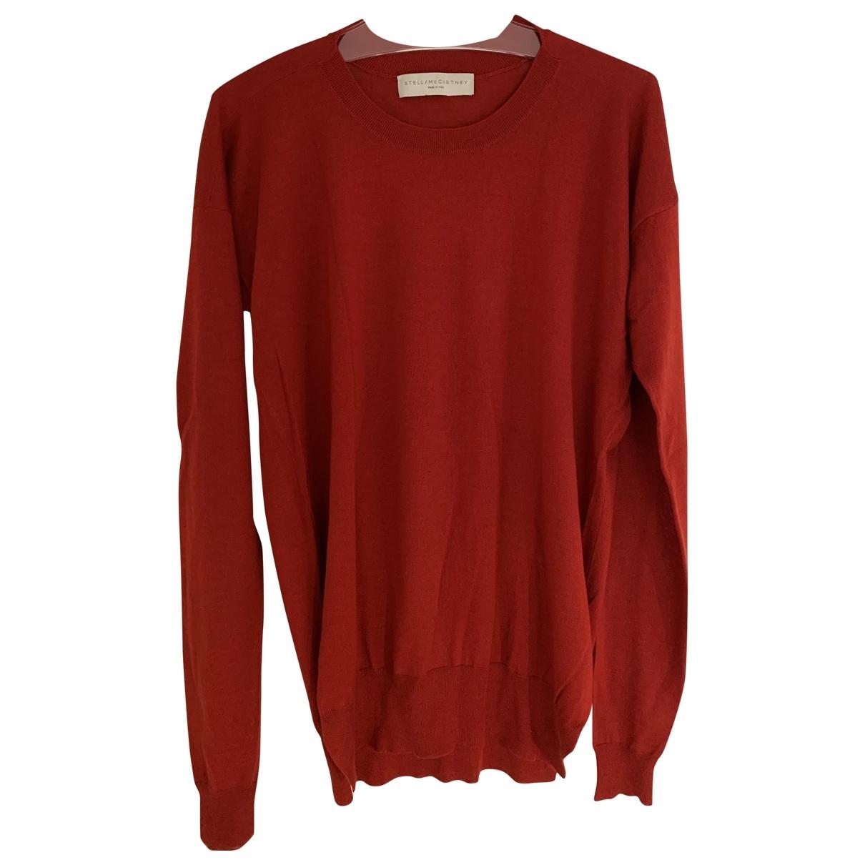Stella Mccartney \N Red Cashmere Knitwear for Women 42 IT