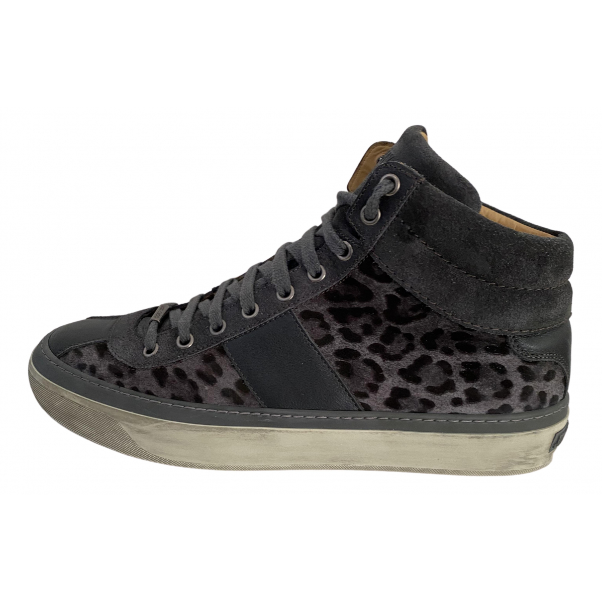 Jimmy Choo N Multicolour Leather Trainers for Men 42 EU