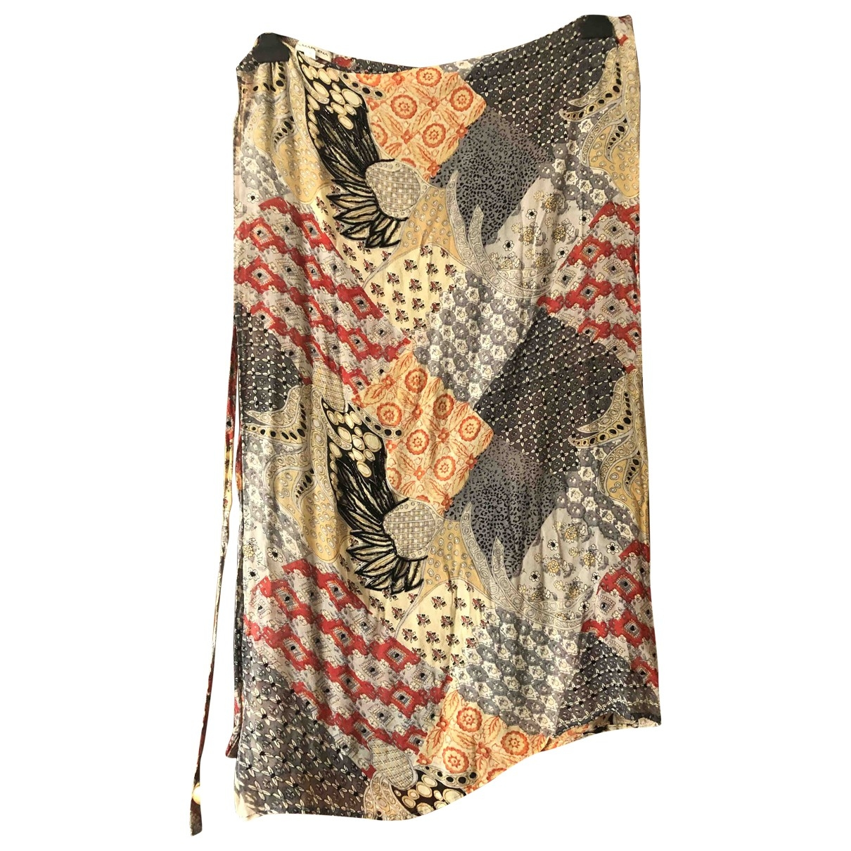 Non Signé / Unsigned \N Multicolour Silk Swimwear for Women L International