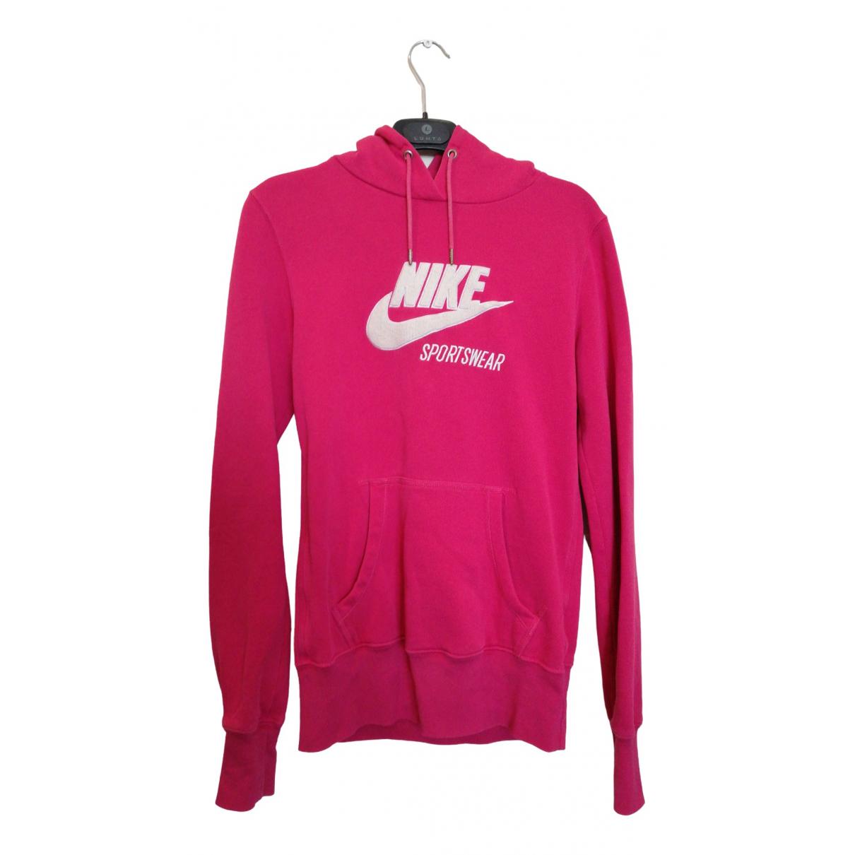 Nike \N Pink Cotton  top for Women S International