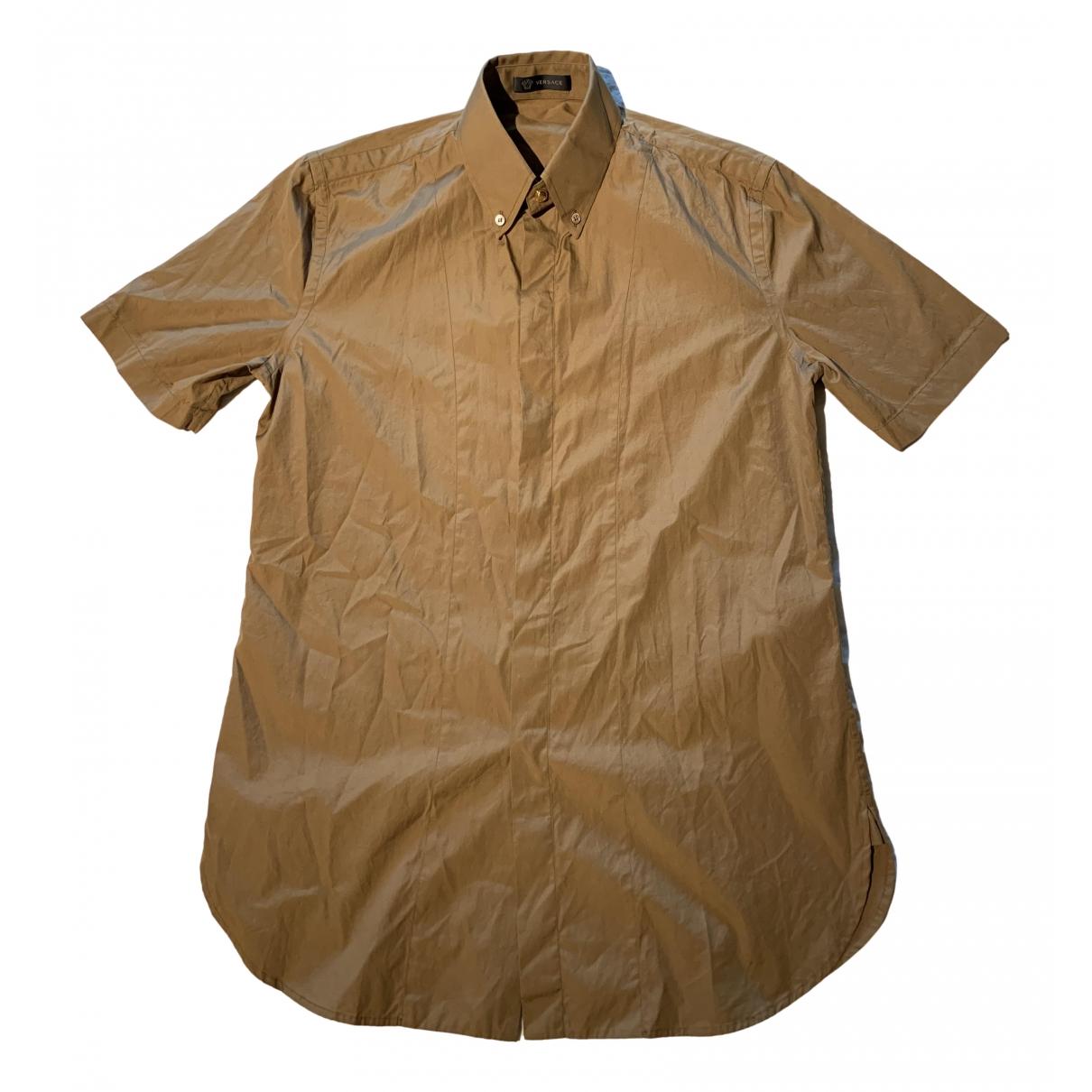 Versace \N Hemden in  Braun Baumwolle
