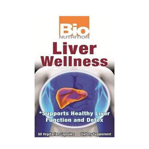 Liver Wellness 60 Vcaps by Bio Nutrition Inc