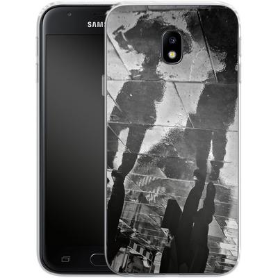 Samsung Galaxy J3 (2017) Silikon Handyhuelle - It Must Be Monday Morning von Ronya Galka