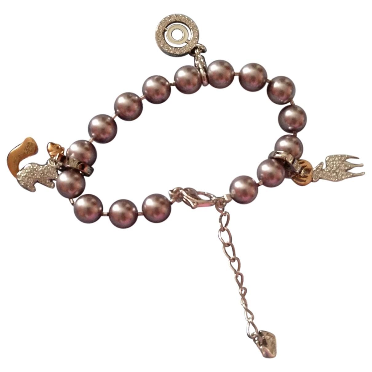 Swarovski - Bracelet   pour femme en metal - rose