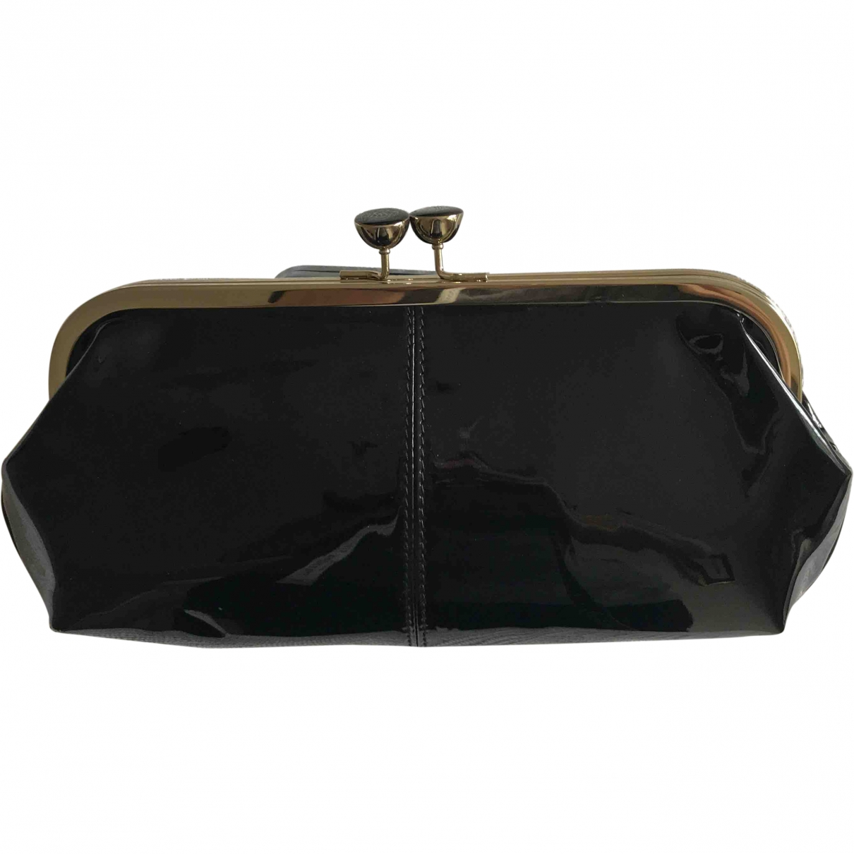 Ted Baker \N Black Leather Clutch bag for Women \N