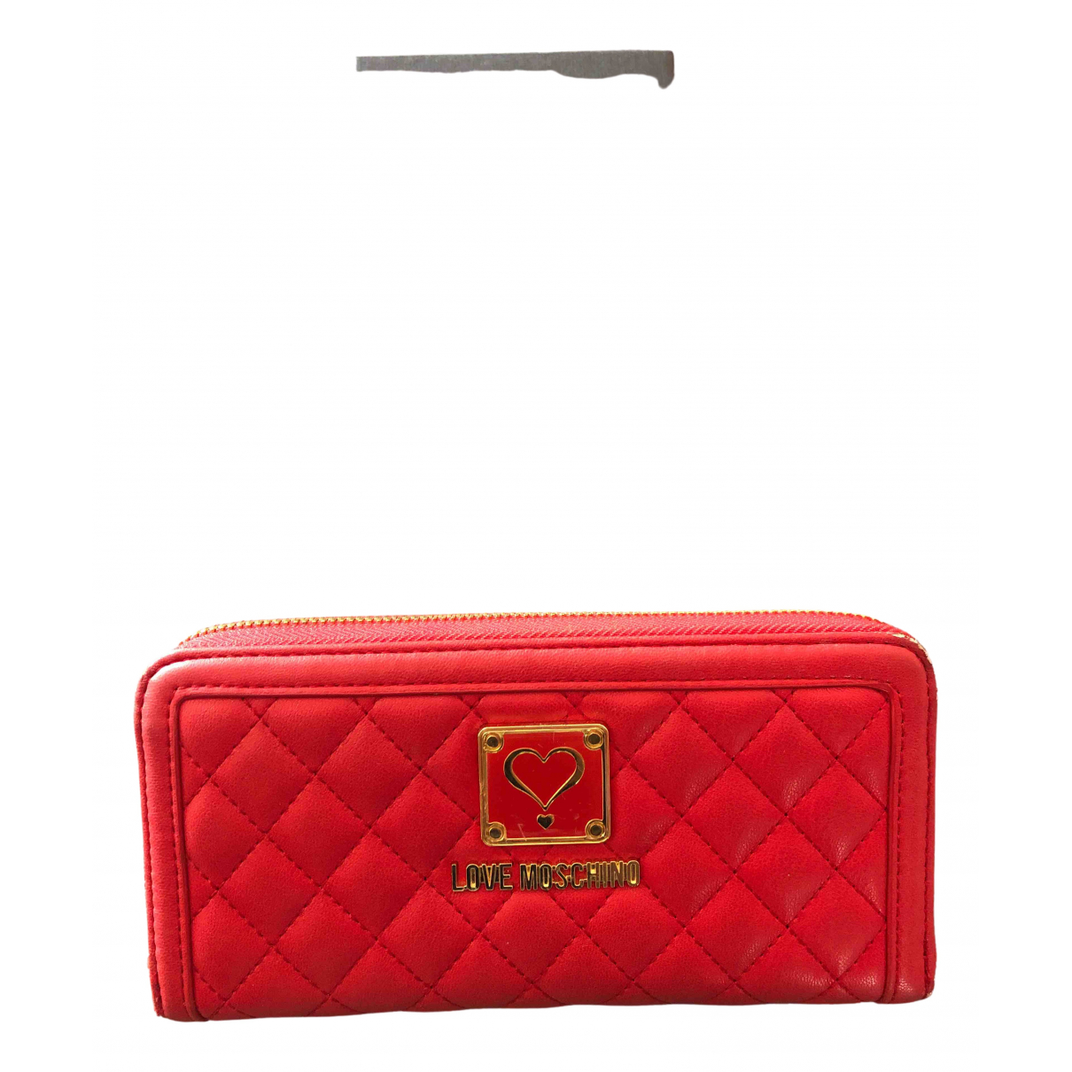 Moschino Love \N Red Purses, wallet & cases for Women \N