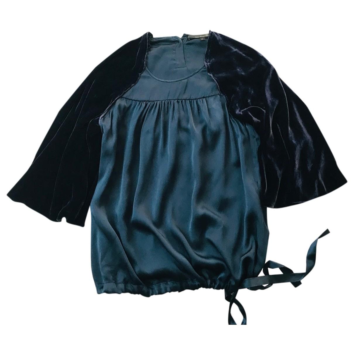 Isabel Marant Etoile \N Blue Silk  top for Women S International