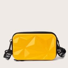 Minimalist Textured Box Bag