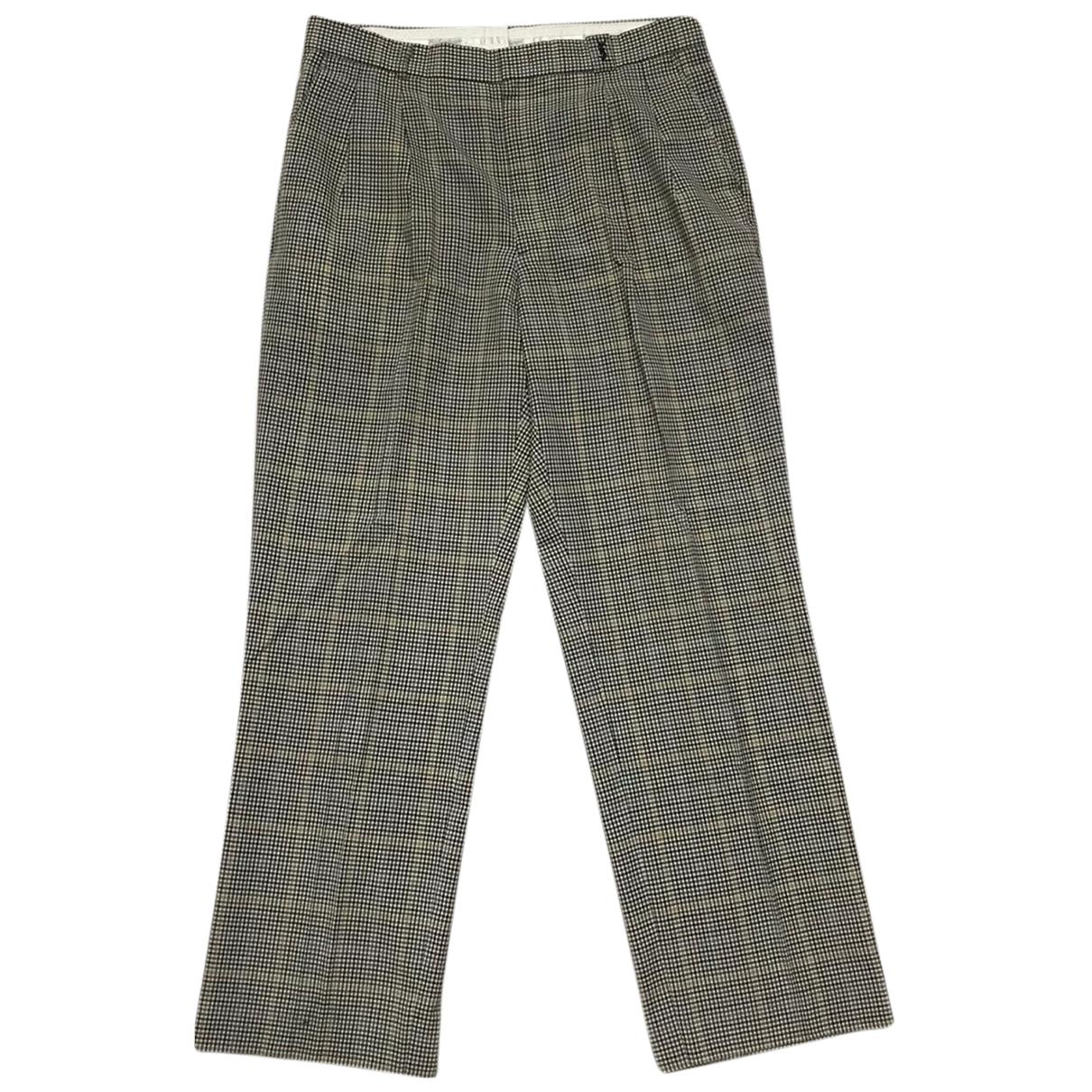 Yves Saint Laurent N Multicolour Cotton Trousers for Men 33 US