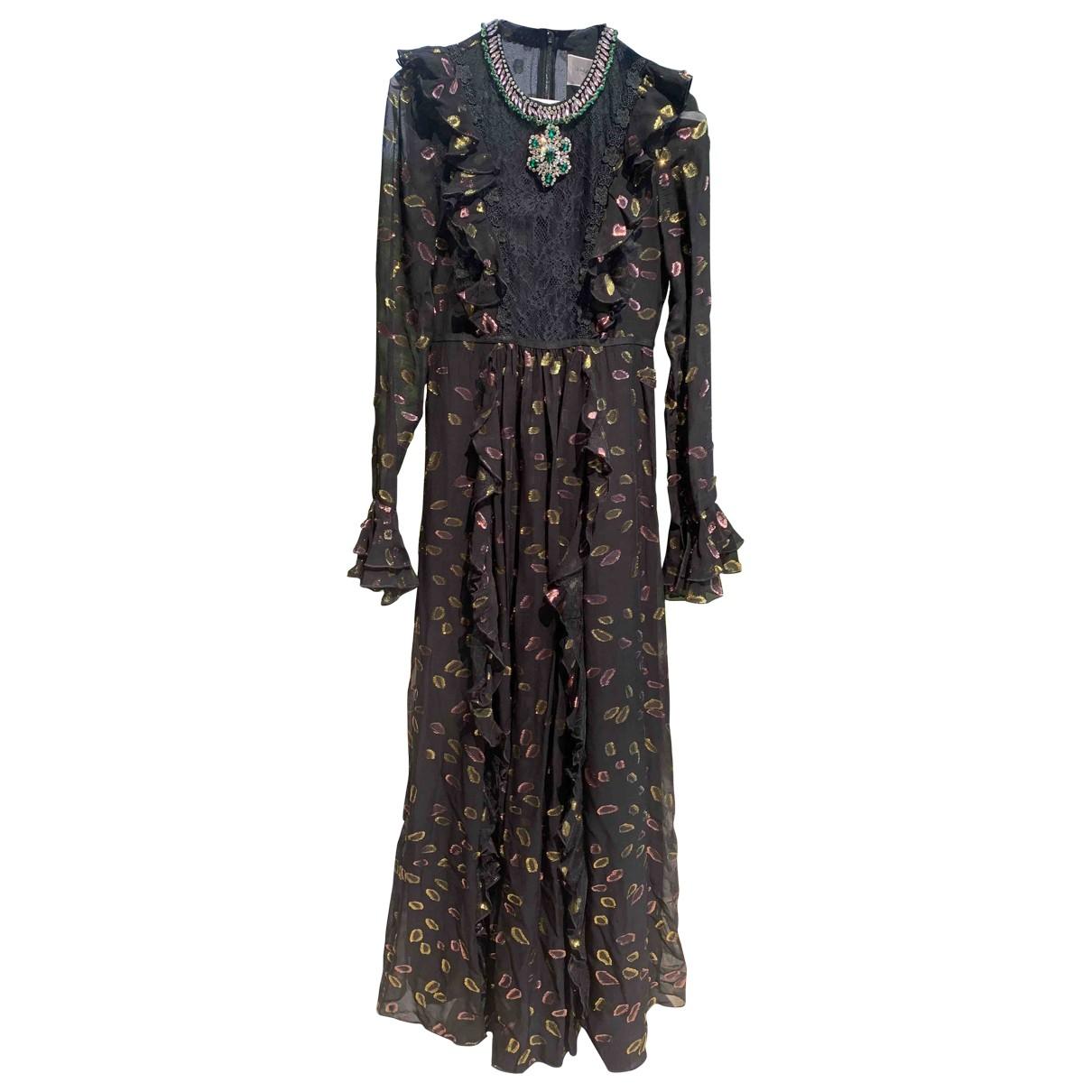 Giambattista Valli X H&m \N Kleid in  Schwarz Polyester