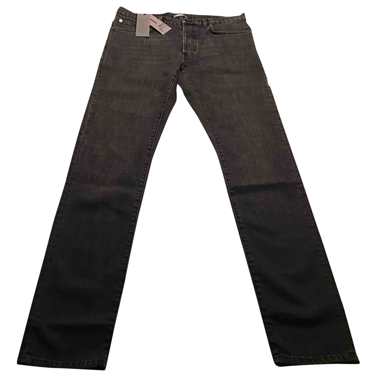 Dior Homme \N Black Cotton - elasthane Jeans for Men 32 US