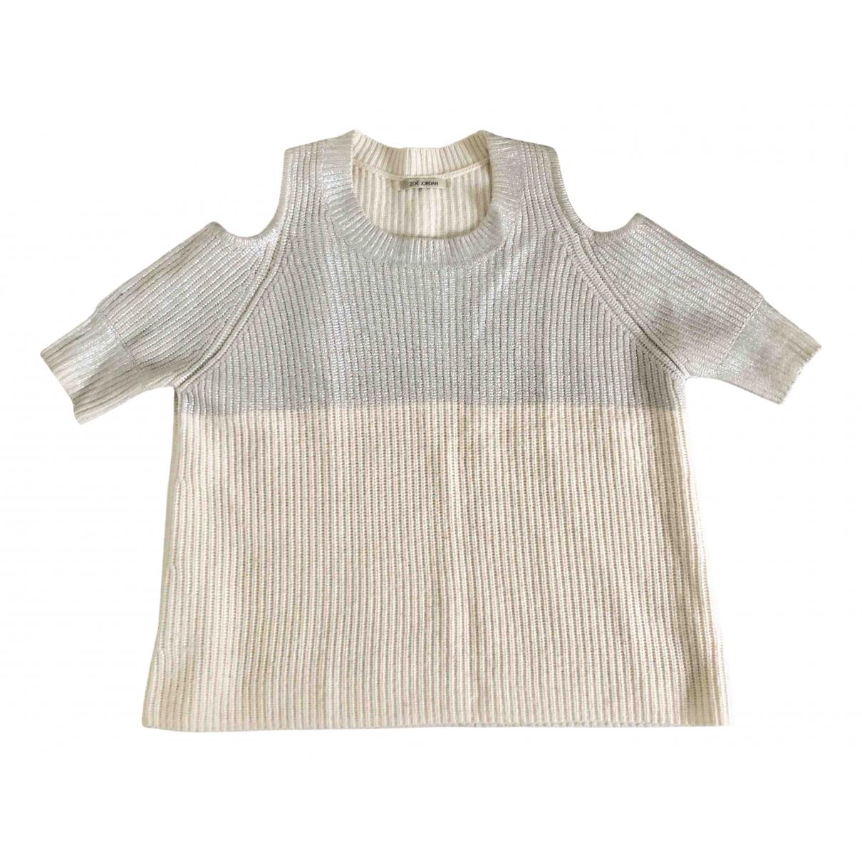 Zoe Jordan N Metallic Cashmere Knitwear for Women M International