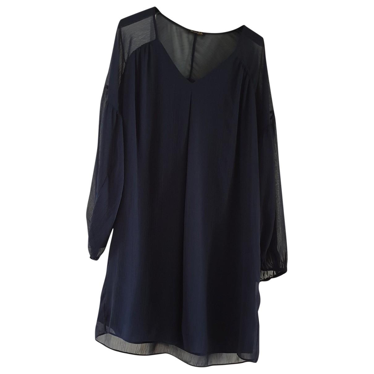 Massimo Dutti \N Blue dress for Women 36 FR