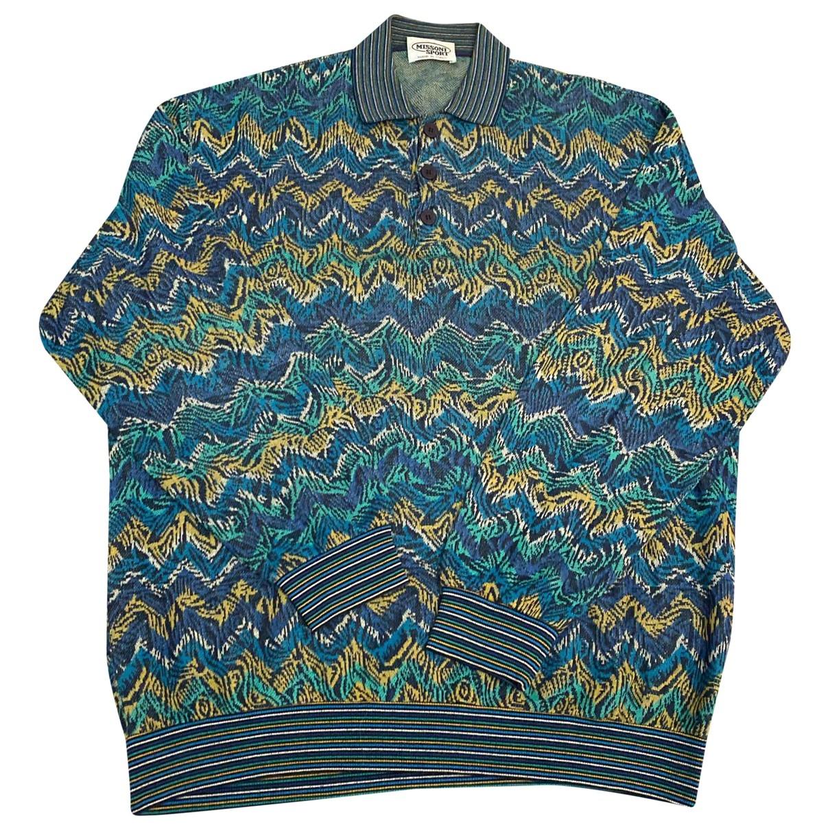 Missoni \N Pullover.Westen.Sweatshirts  in  Bunt Baumwolle