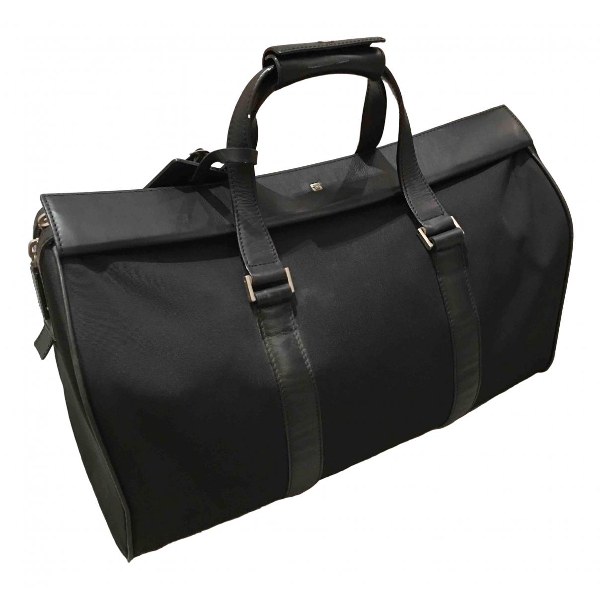 Versace \N Black Cloth handbag for Women \N