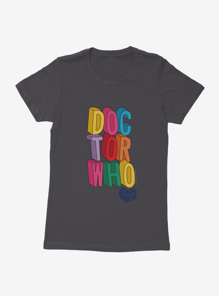 Doctor Who Thirteenth Doctor Girl Power Womens T-Shirt