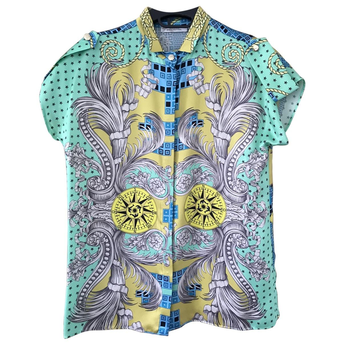 Versace \N Silk  top for Women 40 IT