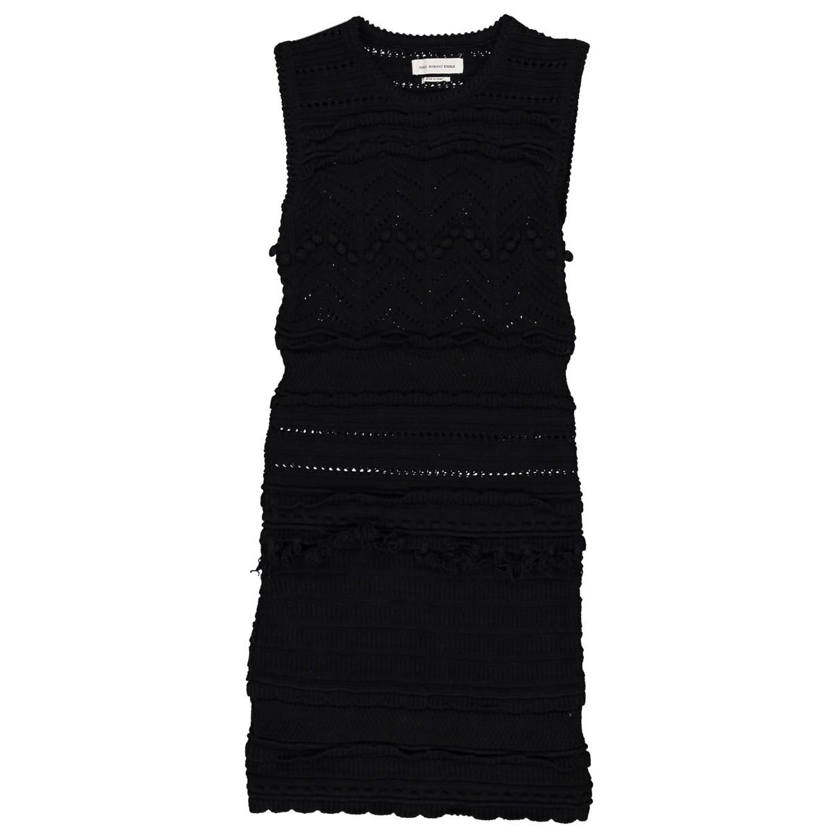 Isabel Marant \N Black Cotton dress for Women 34 FR
