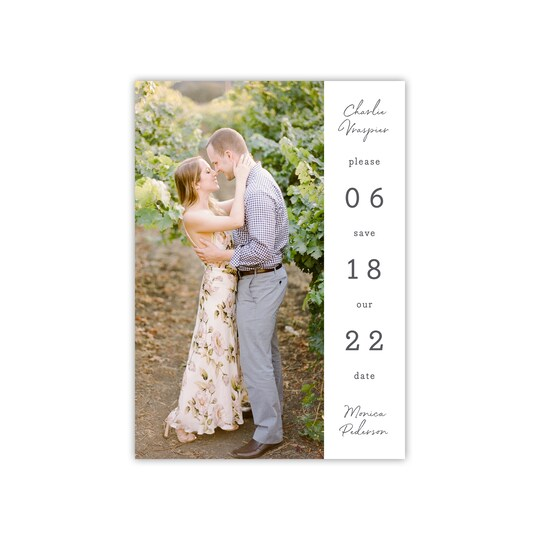 20 Pack of Style Me Pretty Personalized Stacked Date Right Save The Date By Gartner Studios | Michaels®