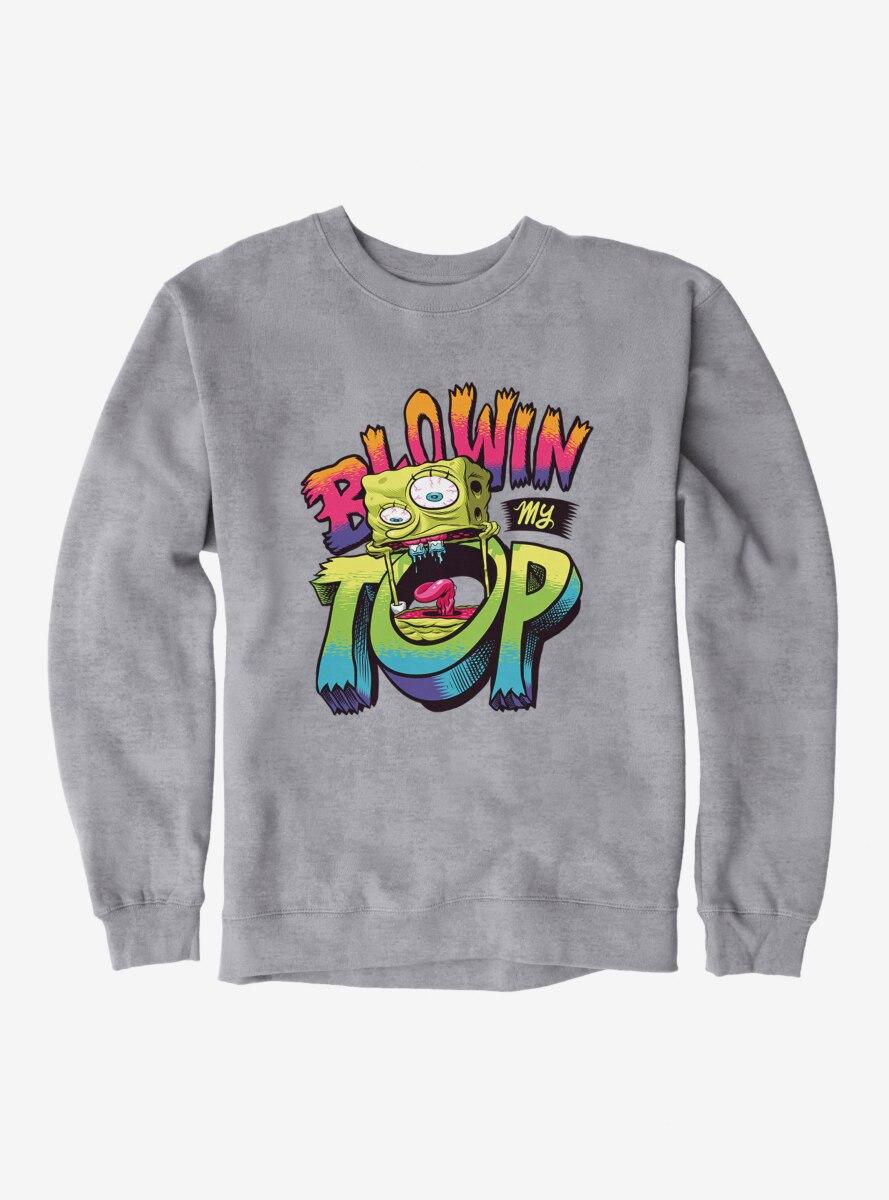SpongeBob SquarePants Blowin' My Top Sweatshirt