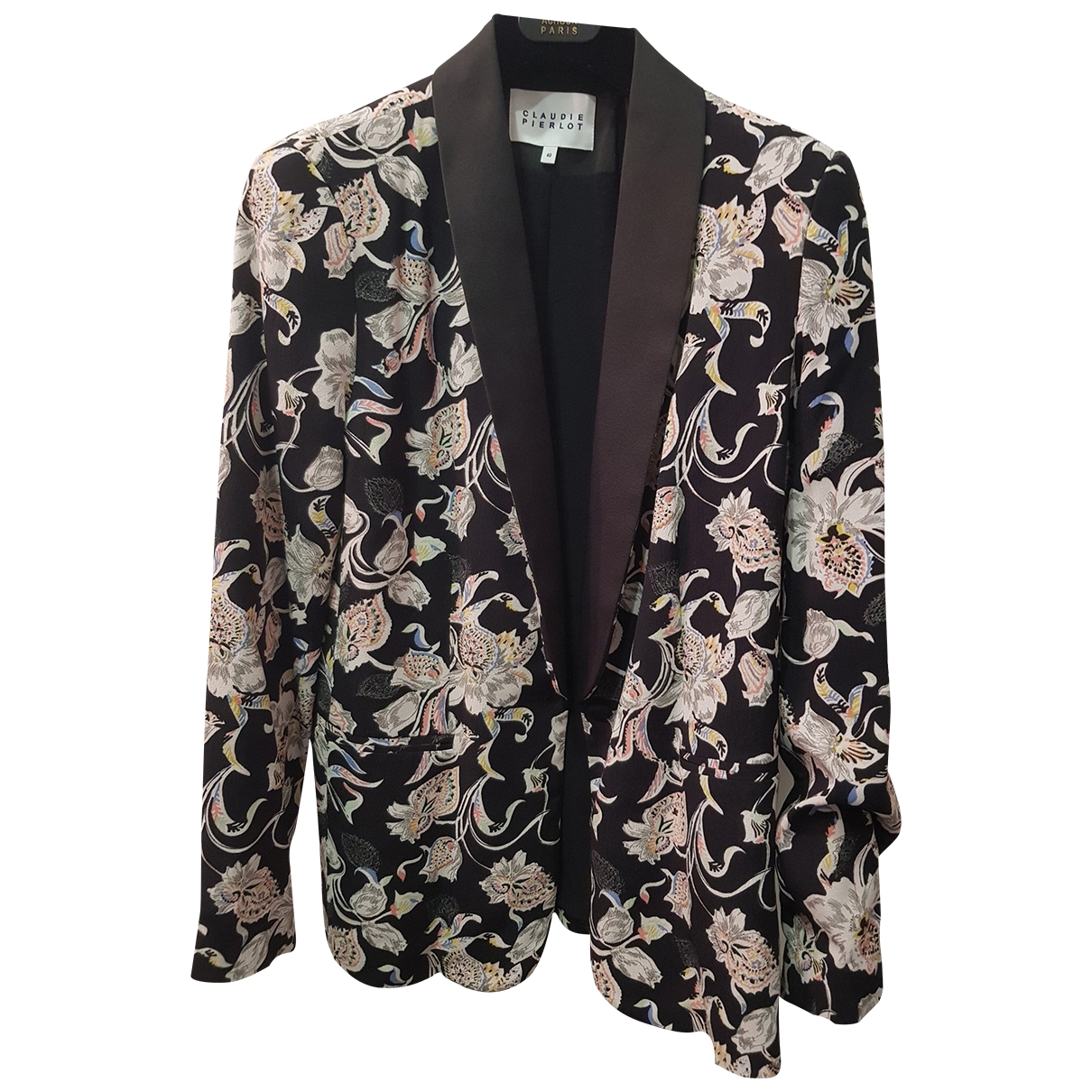 Claudie Pierlot Spring Summer 2019 Black jacket for Women 40 FR