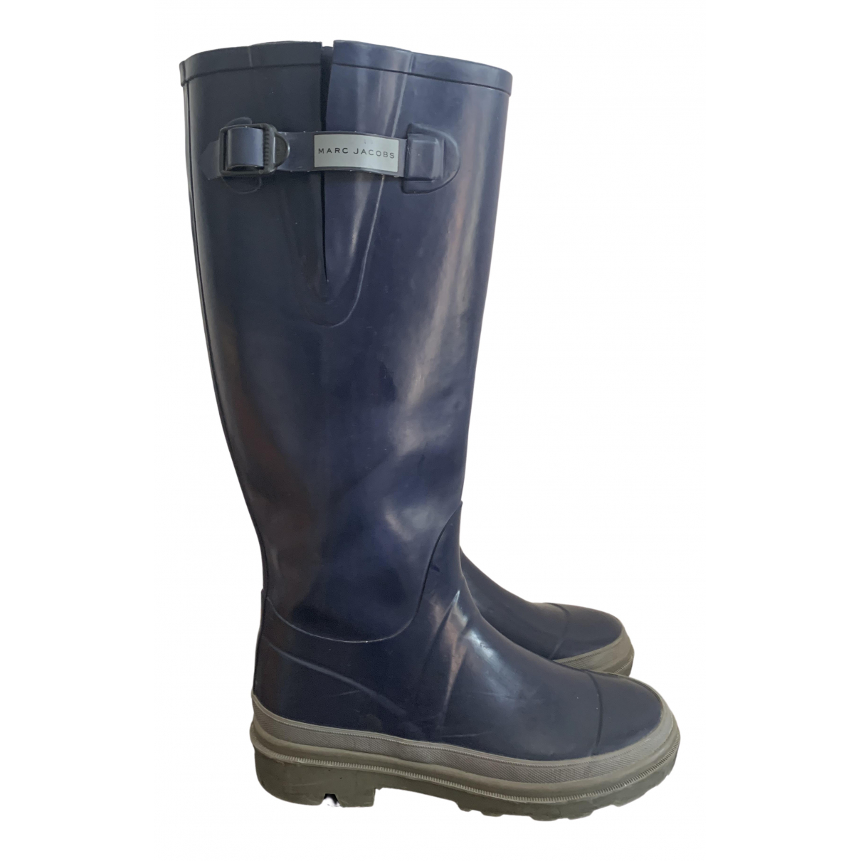 Marc Jacobs \N Blue Rubber Boots for Men 42 EU