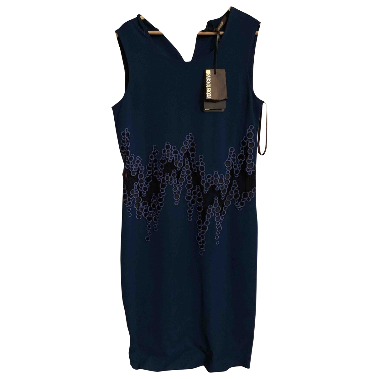 Roberto Cavalli \N Blue dress for Women 42 IT