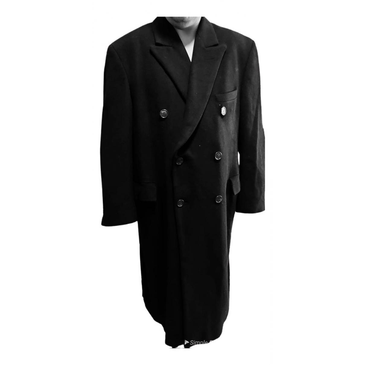 Ralph Lauren - Manteau   pour homme en cachemire - noir