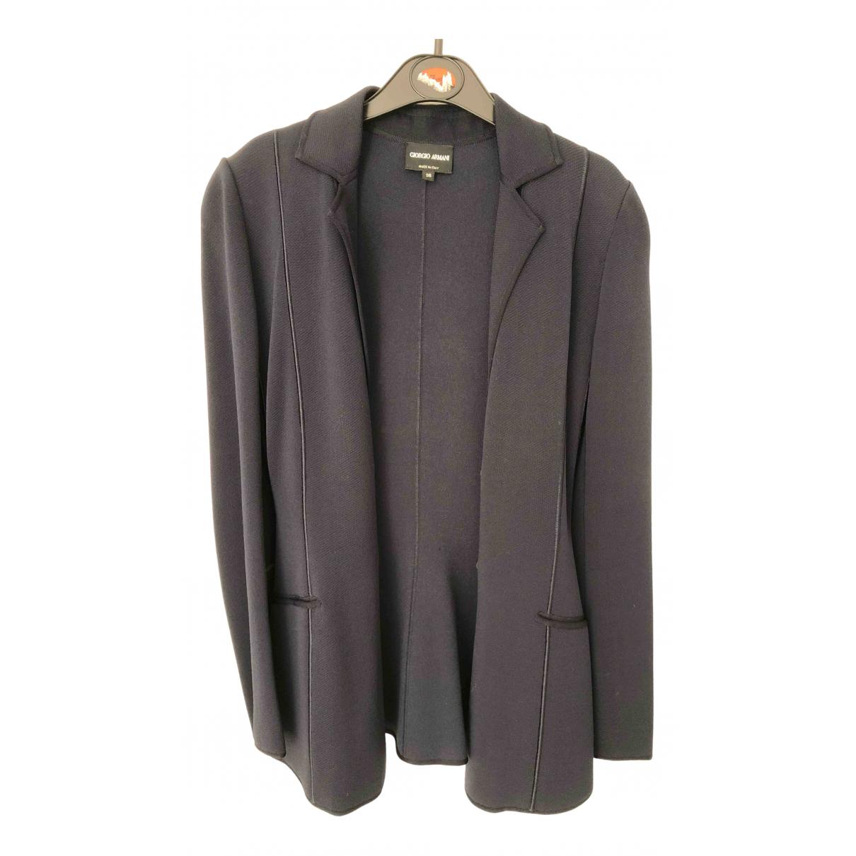 Giorgio Armani \N Navy jacket for Women 36 IT