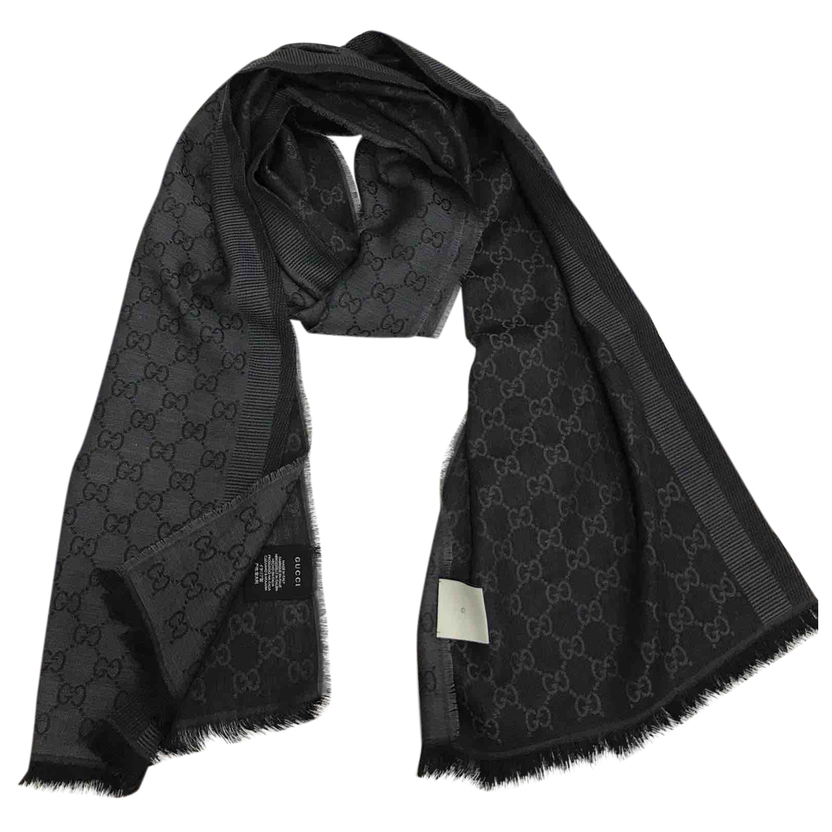 Gucci N Anthracite Wool scarf for Women N