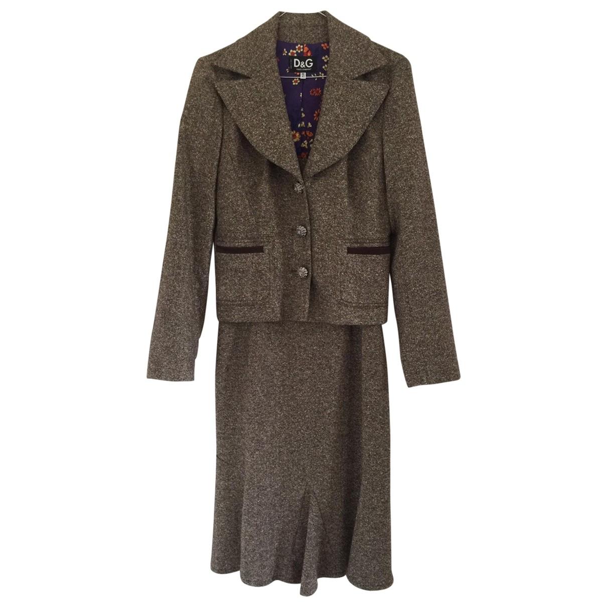 D&g - Veste   pour femme en laine - marron