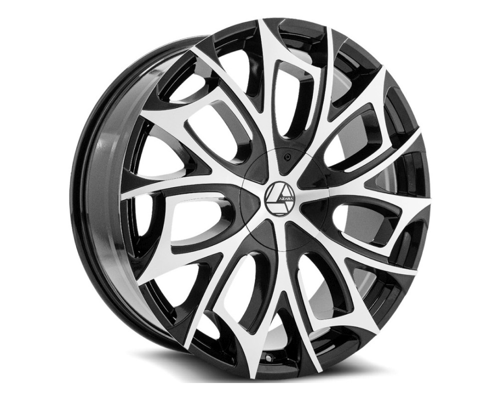 Azara 512 Wheel 20x8.5 5x108|5x114.3 35mm Gloss Black Machined