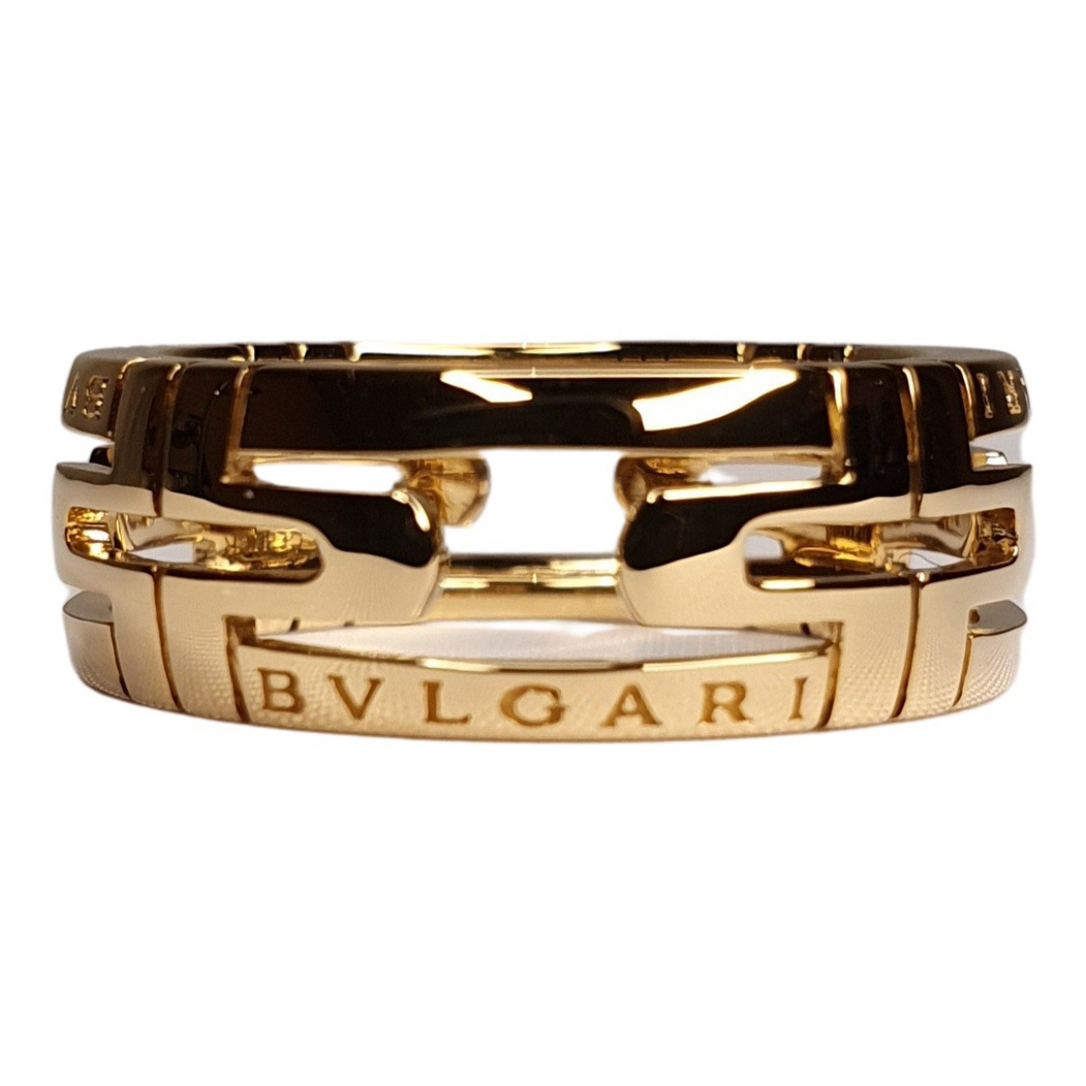 Bvlgari Parentesi Yellow Yellow gold ring for Women 58 MM